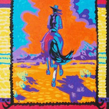 Load image into Gallery viewer, Colorful Western Art Original Painting by Dan Howard