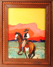 Load image into Gallery viewer, Original Cowboy Painting by Dan Howard