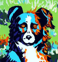 Load image into Gallery viewer, Border Collie Original Painting by Dan Howard