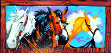 Load image into Gallery viewer, Horses Original Art Painting by Dan Howard