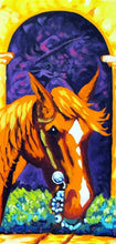 "Load image into Gallery viewer, Horse Gear Original Art Painting ""Traditions"" by Dan Howard"