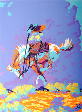 Load image into Gallery viewer, Original Cowgirl Western Art Painting by Dan Howard
