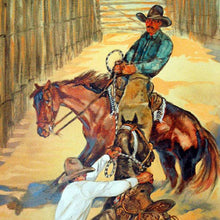 Load image into Gallery viewer, Original Larry Bute Western Art Painting