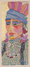 Load image into Gallery viewer, Framed Watercolor Native American Portrait by Linda Lucy Lunde