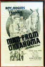 Load image into Gallery viewer, Vintage Movie Poster Art Roy Rogers & Dale Evans