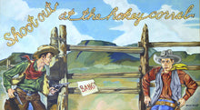 Load image into Gallery viewer, Western Pop Art Cowboy Painting by Santa Fe Artist Spencer Kimball ASK101