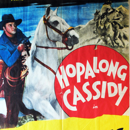 Hopalong Cassidy Vintage Movie Poster