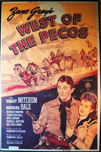 "Load image into Gallery viewer, Vintage Movie Poster ""West of the Pecos"""