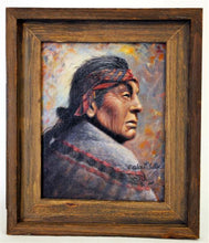 Load image into Gallery viewer, Native American Art Painting Portrait AWF100