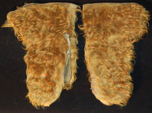 Load image into Gallery viewer, Vintage Leather Mittens with Hair-On Cowhide
