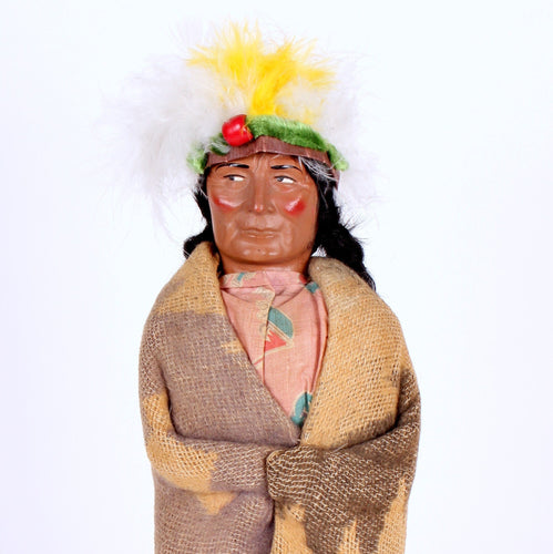 Vintage Skookum Indian Chief Doll