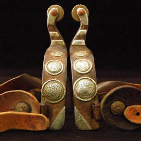 Vintage Pair of Spurs