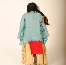 Load image into Gallery viewer, Indian Doll by Mohawk Artist, Cathy Crandall ACC100