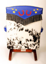 Load image into Gallery viewer, Custom Designed Vintage Child's Rocker by Harriette Allison FHA100