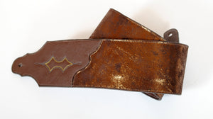 Handmade Copper Leather Guitar Strap GS102