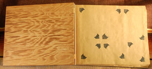 Vintage Wooden Scrapbook Souvenir of Greeley, CO