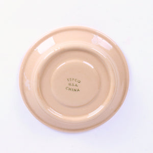 Western Traveler Pattern Tepco Restaurant China Saucer