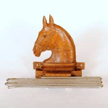 Load image into Gallery viewer, horse head tie rack