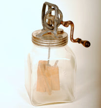 Load image into Gallery viewer, Antique English Glass Butter Churn