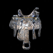 Load image into Gallery viewer, Silver Saddle Brooch JOA234