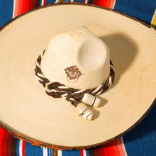 Load image into Gallery viewer, Vintage Sombrero with Silken Cord Band