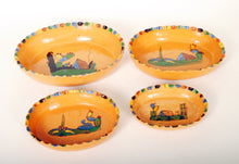 Load image into Gallery viewer, Vintage Mexican Nesting Bowls Redware Pottery