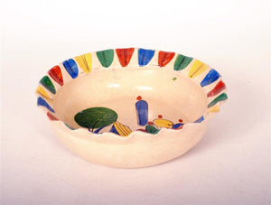 Vintage Mexican Pottery Redware Bowl