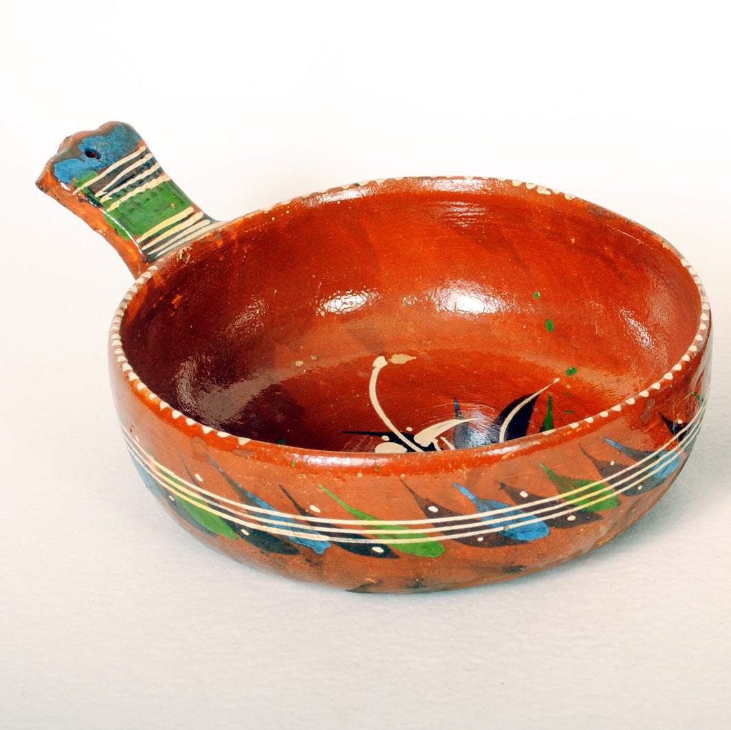 Vintage Mexican Pans Redware Pottery