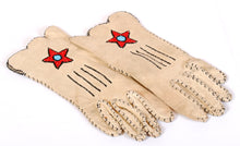 Load image into Gallery viewer, Vintage Beaded Gloves Native American Made
