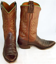 Load image into Gallery viewer, Vintage Boots Mens Brown Nocona sz 10D