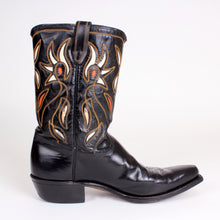 Load image into Gallery viewer, Vintage Black Acme Men's Cowboy Boots