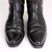 Load image into Gallery viewer, Vintage Goding Black Cowboy Boots