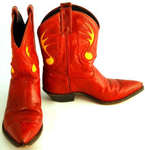 Load image into Gallery viewer, Vintage Code West Cowboy Boots Women sz 7-1/2M