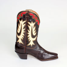 Load image into Gallery viewer, Dark Brown Women's Vintage Justin Boots