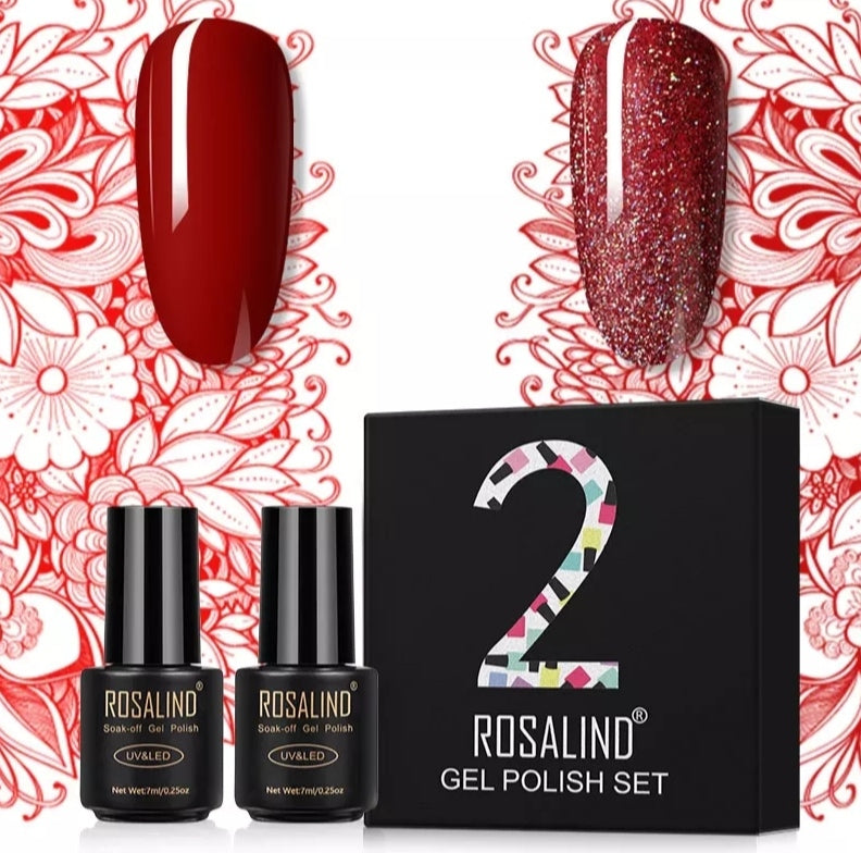 COFFRET 2 PIECES VERNIS SEMI-PERMANENT