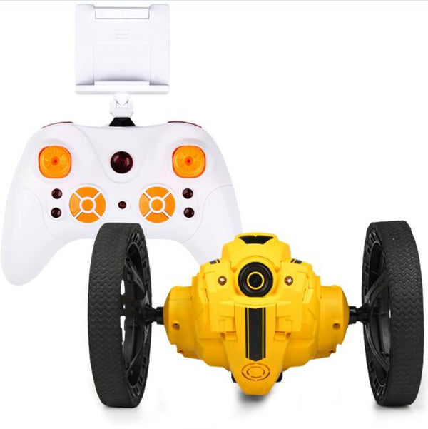 Jumping Robot Car with WIFI camera