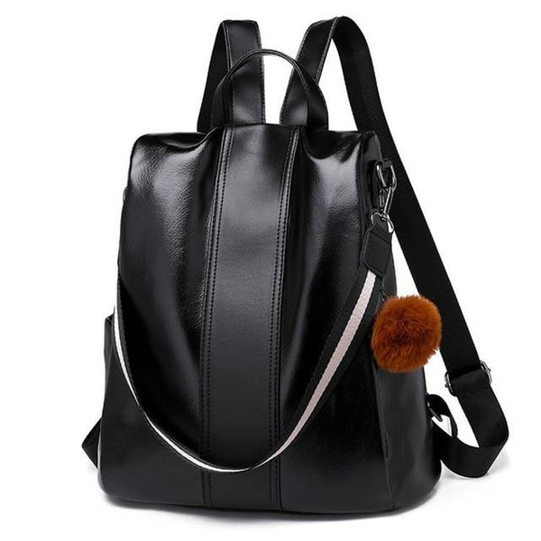 Casual Waterproof Purse Anti-theft Backpack
