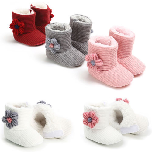 Newborn Baby Shoes Prewalker Booties