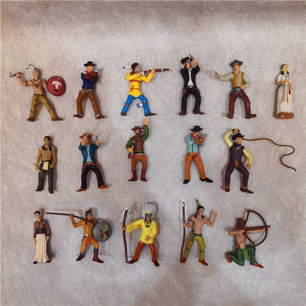 30pcs/lot Indian Wild West Cowboy country