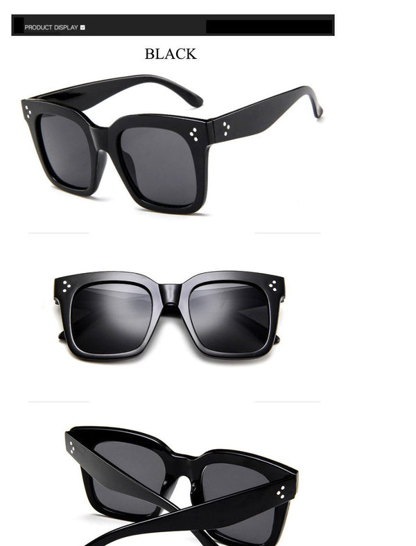 Retro Mirror Square Sunglasses