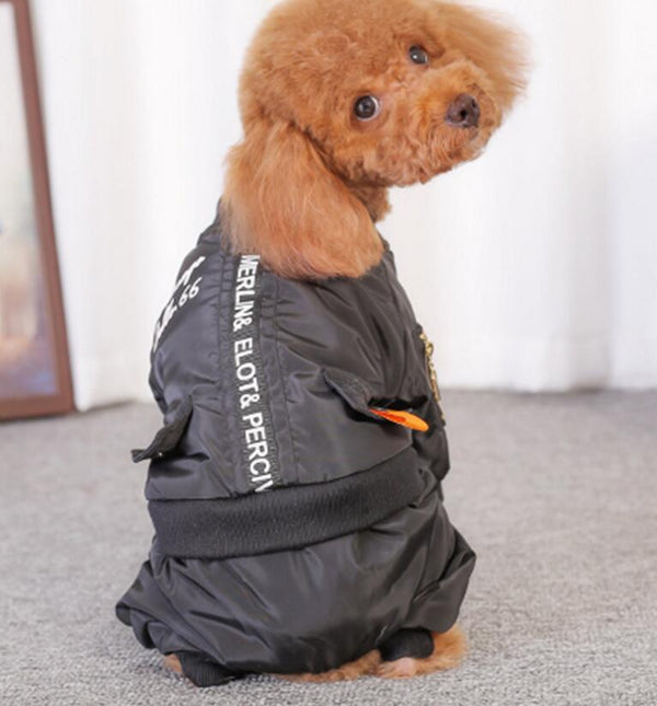 Dog Jumpsuit Coat Waterproof