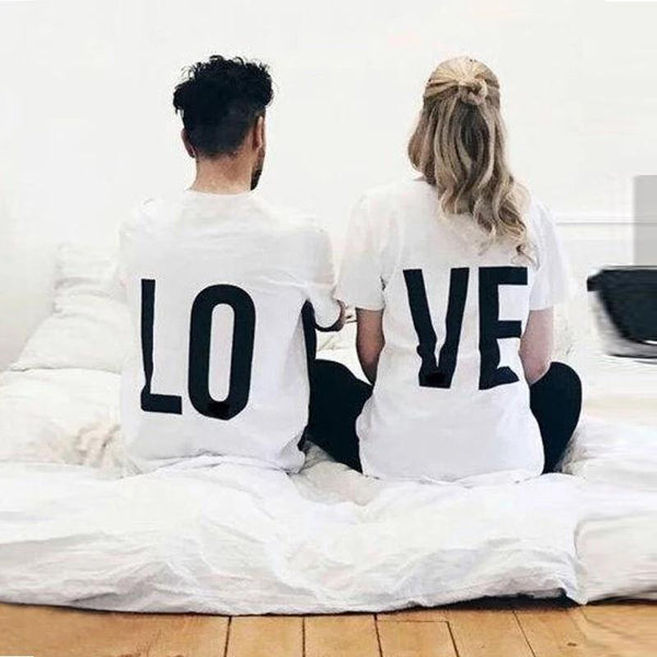 Casual Top Cotton LOVE Tee Shirt