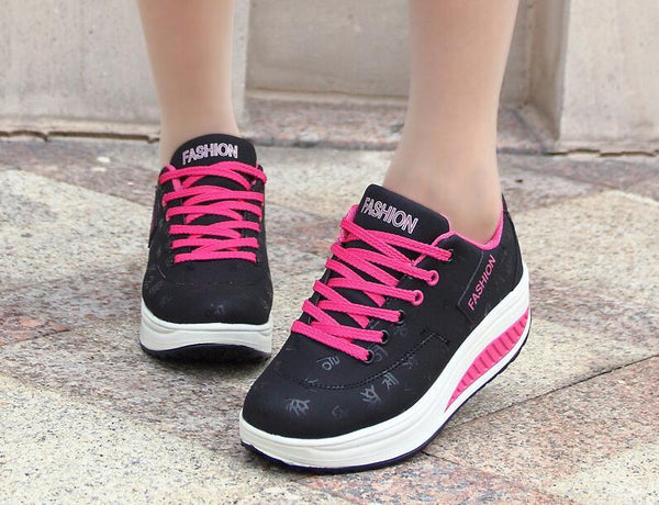Leather Casual Breathable Waterproof Sneakers