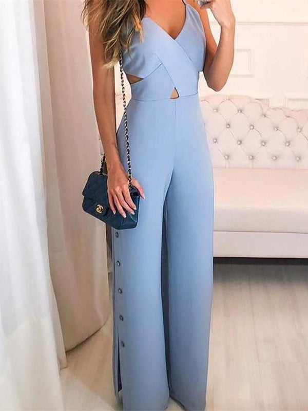 Jumpsuits Sleeveless Overalls Sexy