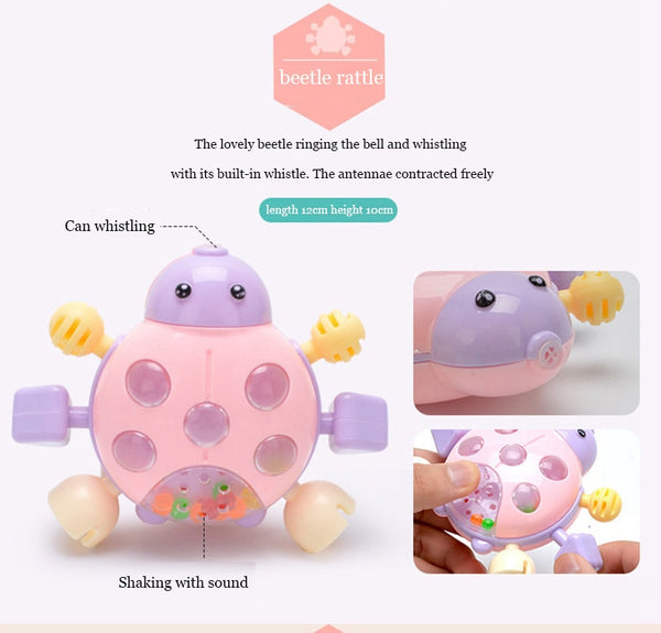 Educational Waldorf Rattle Toy For Girl