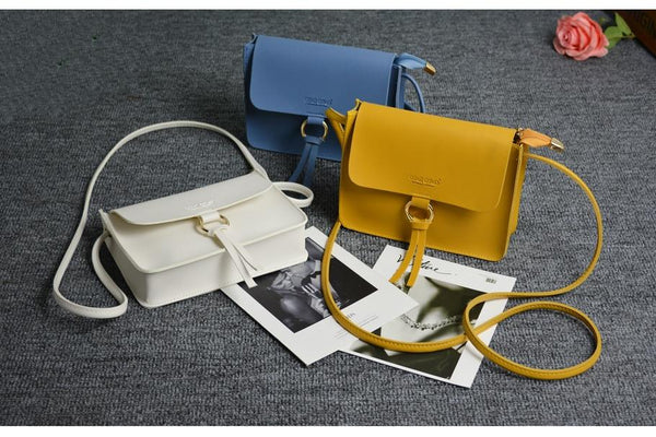 leather Female Shoulder Crossbody Bags