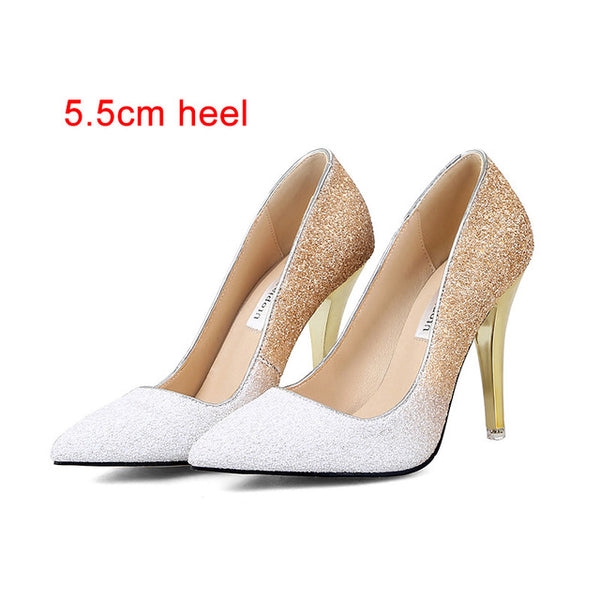 Cute New High Thin heels Shoes