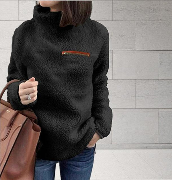 Pullovers Women Jumper Fleece Sweater