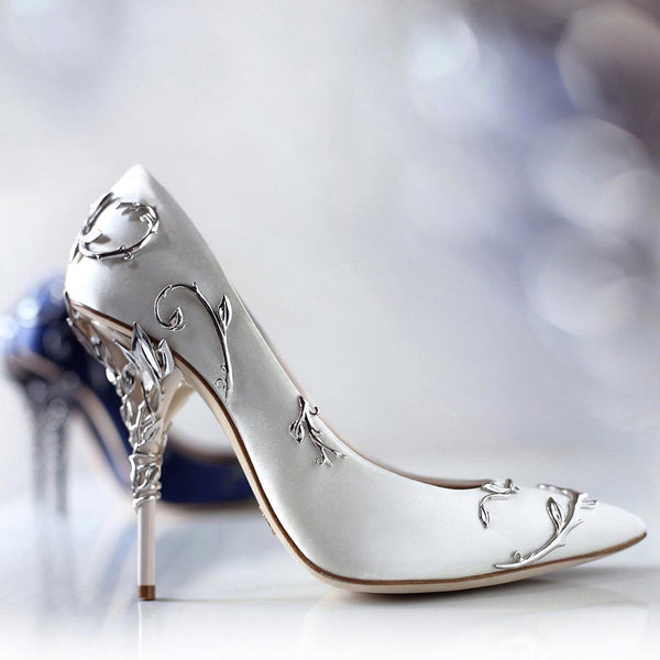Luxury Women Pumps Pointed Toe