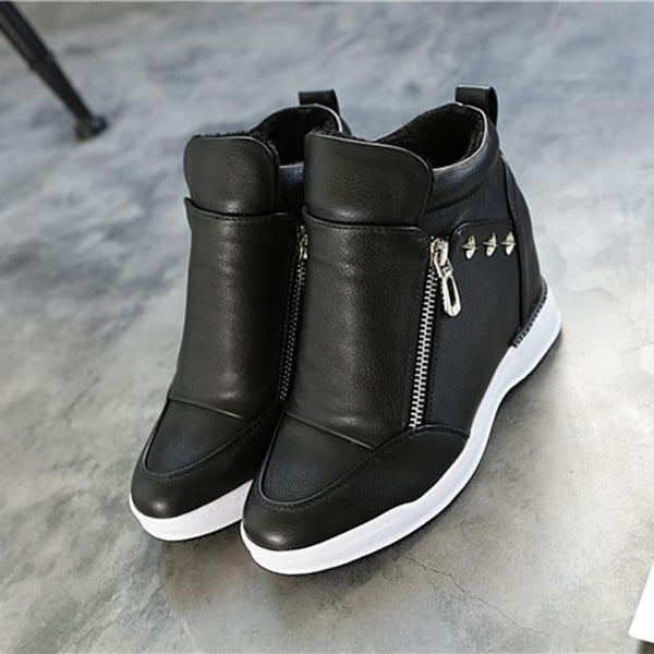 Platform Sneakers Womens Shoes
